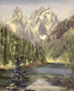 1939 Painting from Wyoming Painting Trip